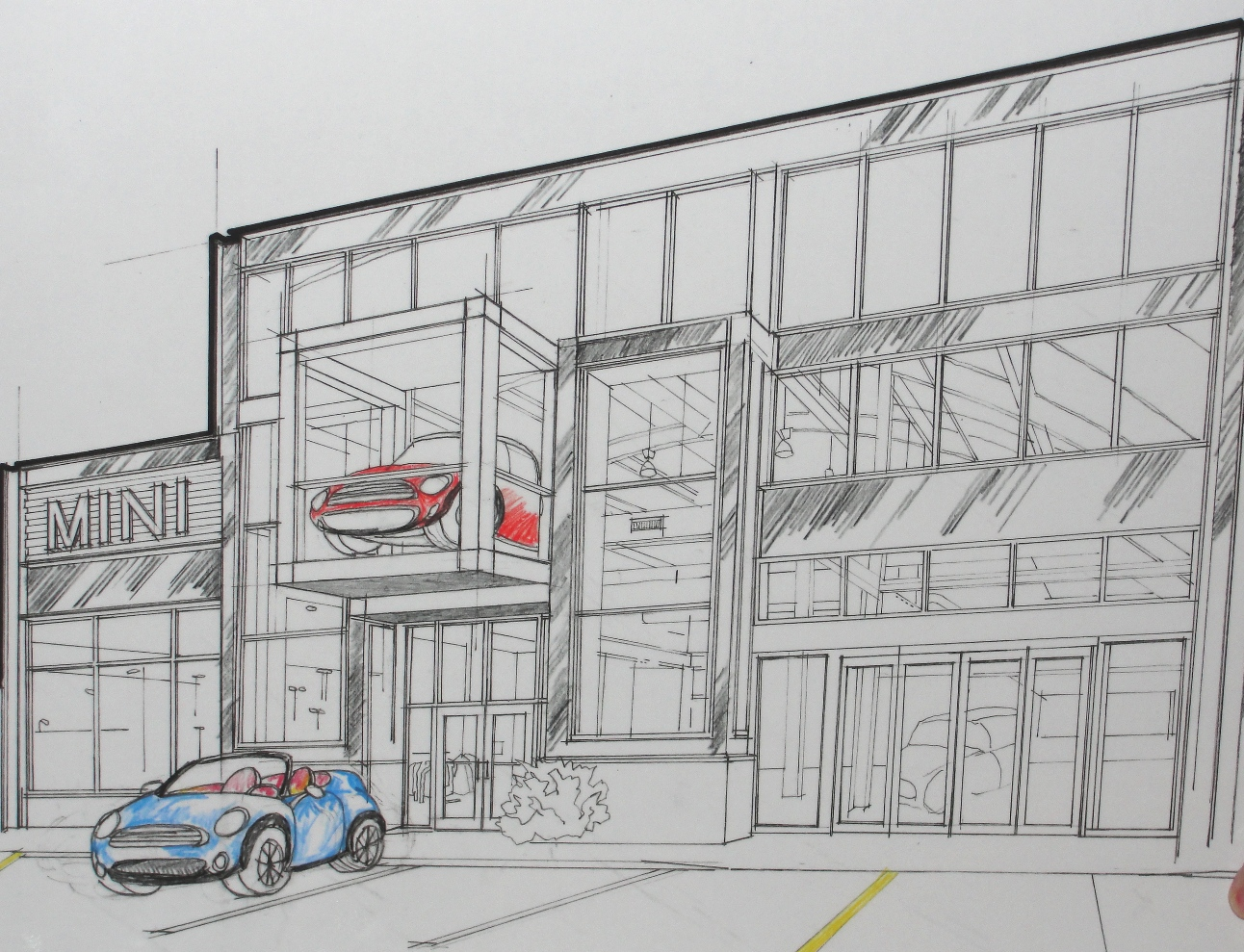 Willis Auto Campus >> Willis Auto Campus Concept Drawings Eastern Iowa Minis A